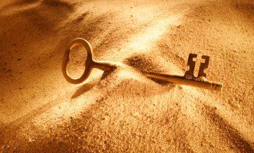 hidden key in the desert