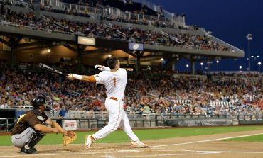Baseball home run batter