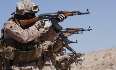 Militants with AK47