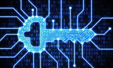 Blue Digital Key