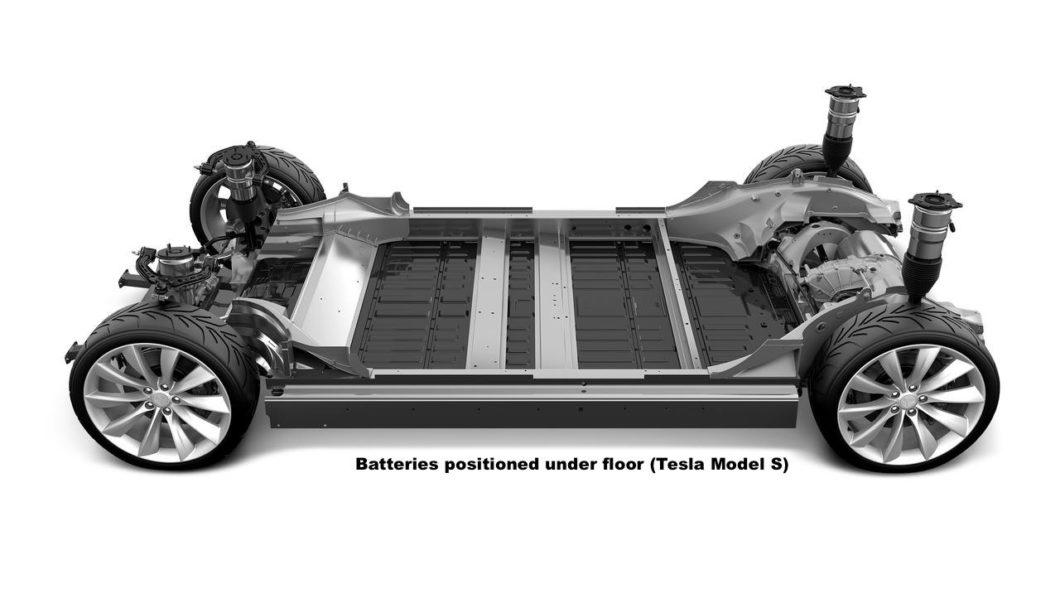 Electric Car Battery Tesla