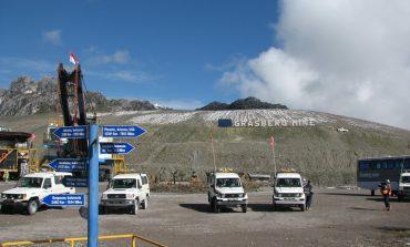 Freeport McMoran Copper Grasburg Mine