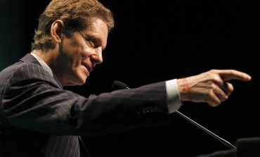 Ivanhoe Mines Chairman and CEO Robert Friedland addresses the Investing in Africa Mining Indaba in Cape Town