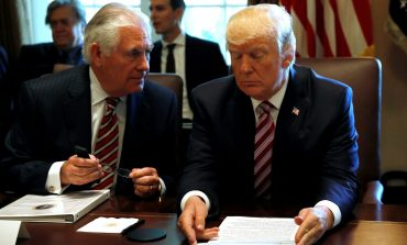 Trump Meeting with Tillerson IQ Test
