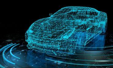 digital model of high tech car