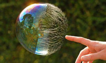 Bitcoin bubble popping