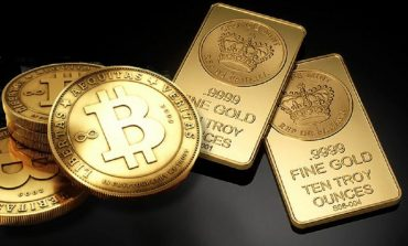 bitcoin and gold bullion