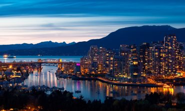 Vancouver night time