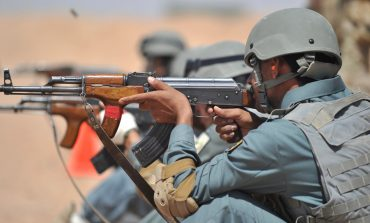 Members of the Afghanistan National Police