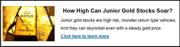 how high can gold stocks soar