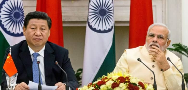 Chinese President and Indian PM